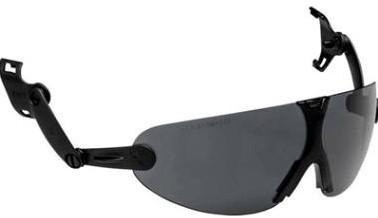 3M Peltor V9G Geïntegreerde Veiligheidsbril Smoke