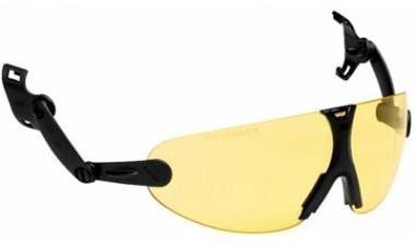 3M Peltor V9A Geïntegreerde Veiligheidsbril Geel
