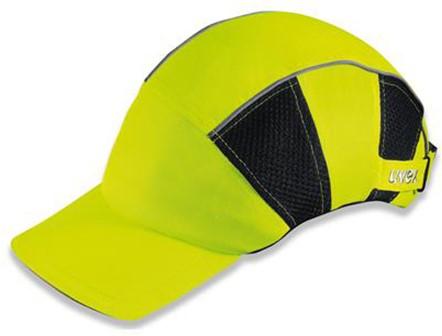 Uvex U-cap Hi-viz 9794-800 Baseball Cap Fluo Geel