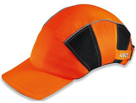 Uvex U-cap Hi-viz 9794-900 Baseball Cap Fluo Oranje