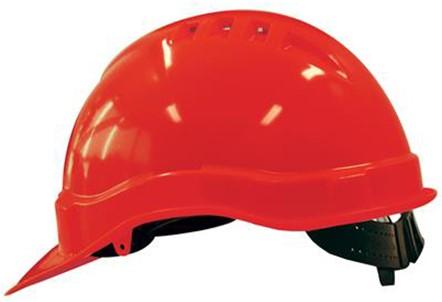 M-Safe MH6000 Veiligheidshelm Rood