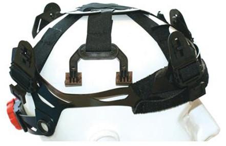 M-Safe Binnenwerk Met Draaiknop T.b.v. MH6020 Helm Zwart
