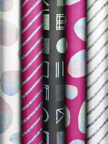 Inpakpapier Stewo Luminous Patterns 70x150cm 80gr