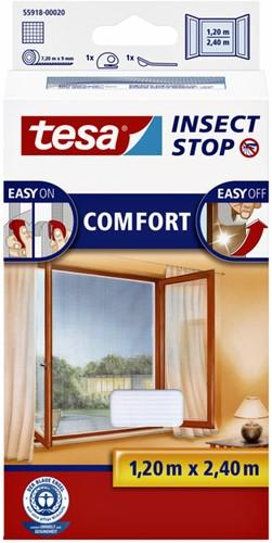 Insectenhor Tesa 55918 voor raam 1,2x2,4m wit
