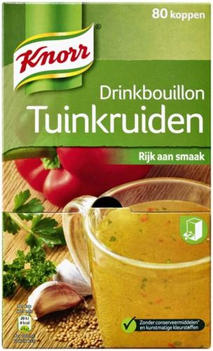 Drinkbouillon Knorr tuinkruiden 80 zakjes