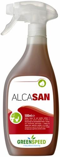 Santairreiniger Greenspeed Alcasan spray 500ml