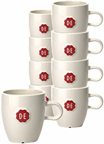 Kopje Douwe Egberts espresso 70ml wit