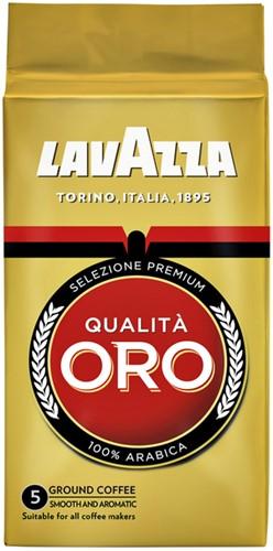 Koffie Lavazza gemalen Qualita Oro 250gr