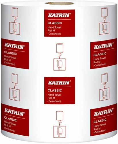 Handdoekrol Katrin 485049 Centerfeed M 1laags 20,5cmx300m