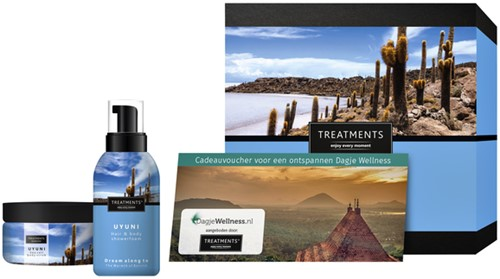 Cadeaubox Treatments Uyuni set + 1 voucher