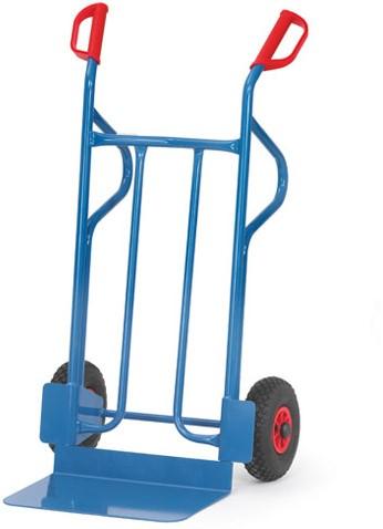 Steekwagen B 1216 Massief rubber wielen 250 x 60 mm