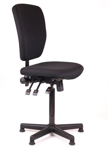 Loketstoel / Kassastoel Oasis hoog + Kunststof voet