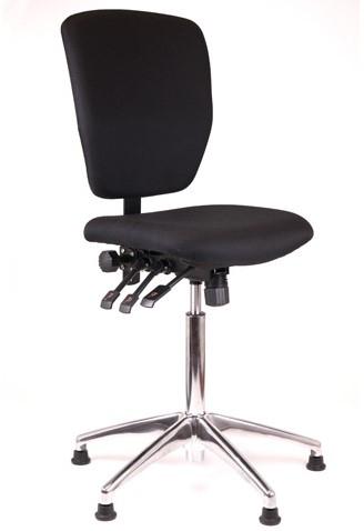Loketstoel / Kassastoel Oasis hoog + Alu voet