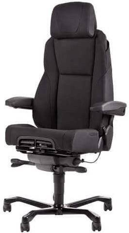 Bureaustoel Xtreme Comfort 24 uurs stoel Stof