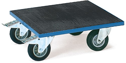 Rolplateau KF 6 G - rubber Laadvlak 500 x 500 mm