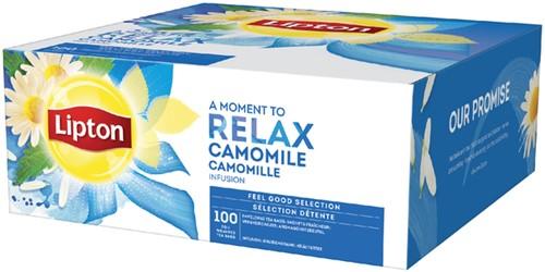 Thee Lipton Relax Kamille 100stuks