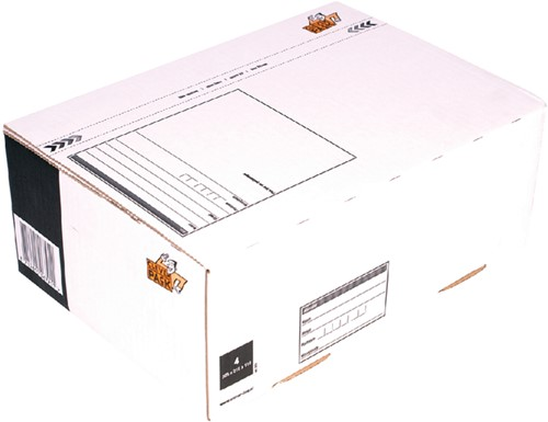 Postpakketbox 4 CleverPack 305x215x110mm wit