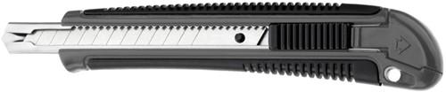 Snijmes Westcott Professional 9mm met schuifsluiting grijs