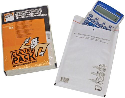 Envelop CleverPack luchtkussen nr13 170x225mm wit 10stuks