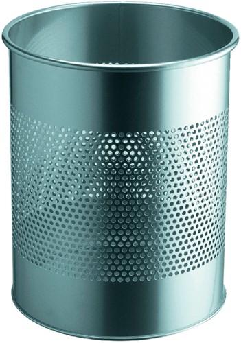 Papierbak Durable 3310-23 15liter 165mm perforatie zilver