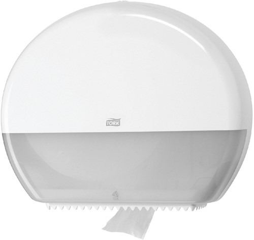 Dispenser Tork T1 554000 jumbo toiletpapierdispenser wit