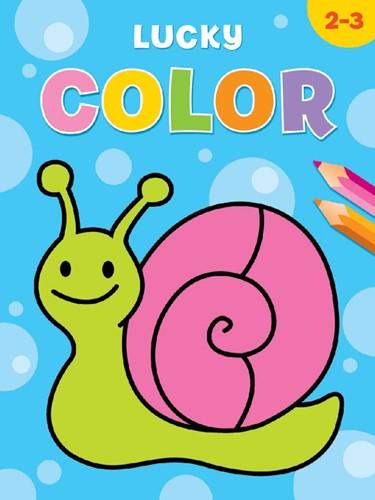 Kleurboek Deltas lucky color (2-3 jaar)
