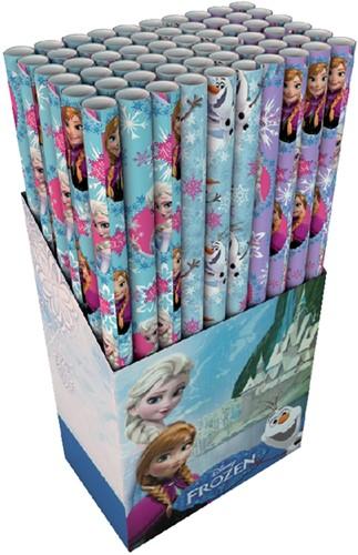 Inpakpapier Hoomark Frozen Olaf 200x70cm assorti