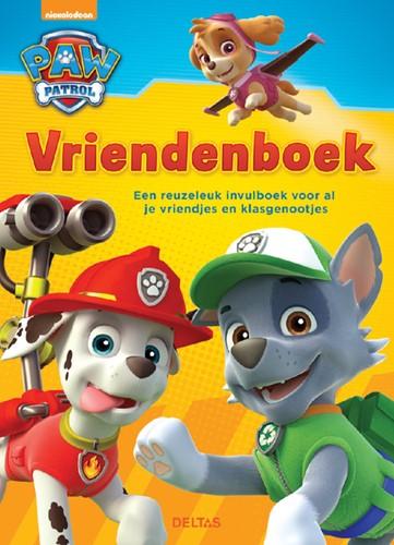 vriendenboek Deltas Paw Patrol