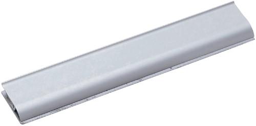 Klemlijst MAUL 21.8x4cm aluminium zelfklevend