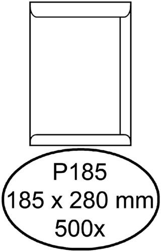 Envelop Quantore akte P185 185x280mm wit 500stuks