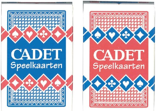 Speelkaarten Cadet 2 spellen
